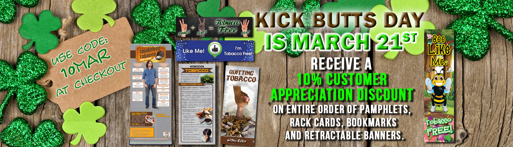 Kick Butts smoking tobacco prevention