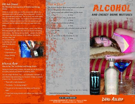 alcohol and energy drink mixtures