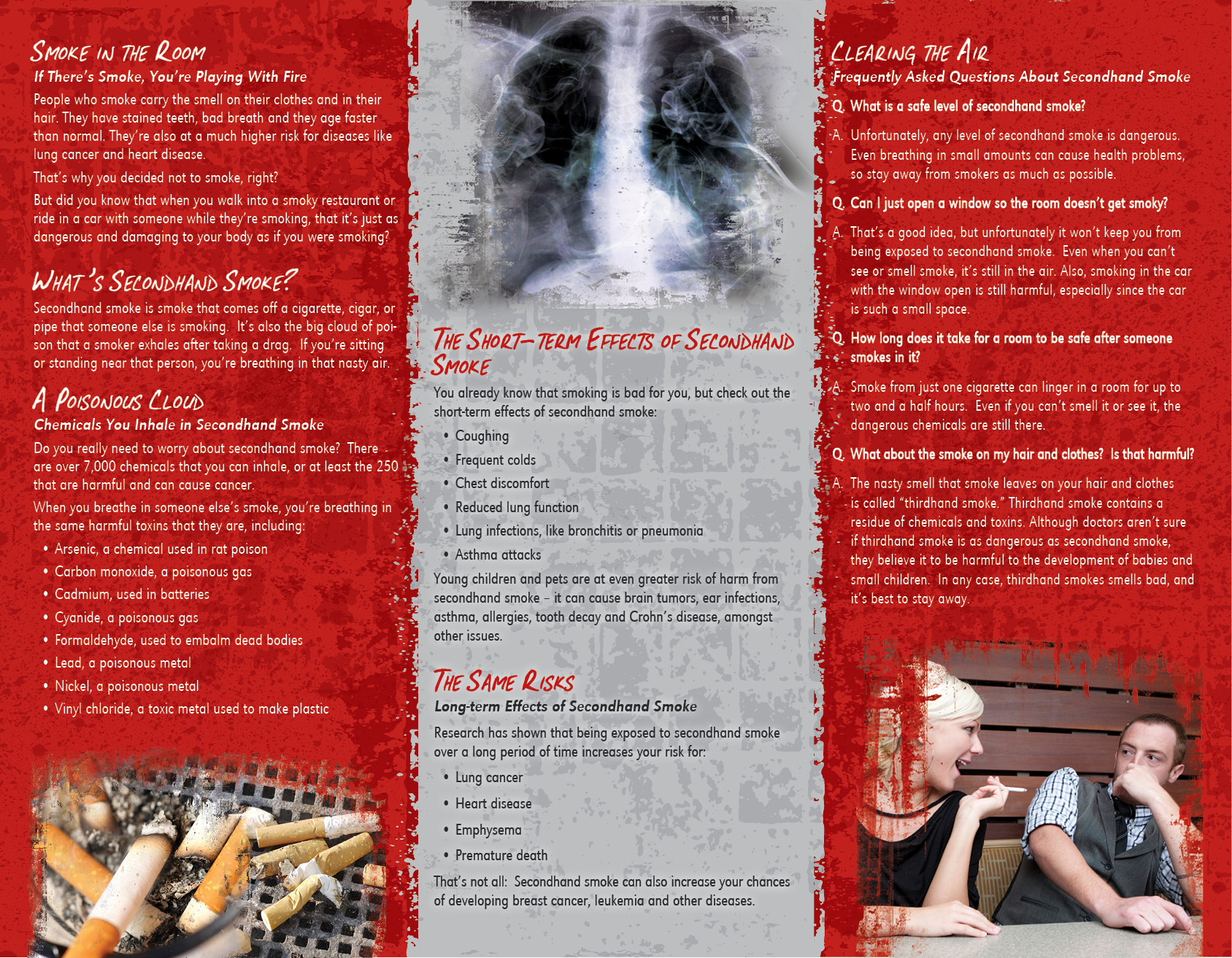 an argument that smokers are the victims of secondhand smoke Hi, i read the recent news where mps highlighted the issue of secondhand smoke entering innocent non smokers homes it seems that current laws of prohibiting smoking in open spaces are only going to force smokers to smoke in their homes the difference between open space and home is that the home is enclosed and mo.