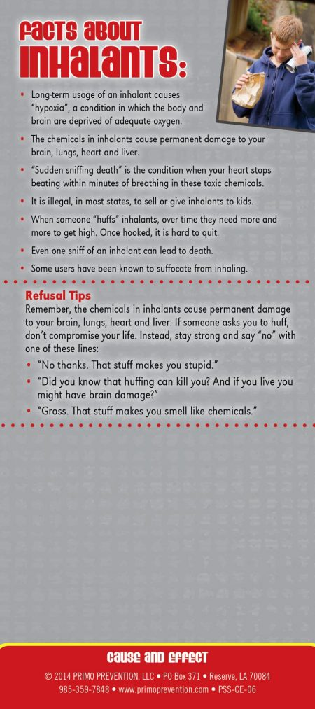 1 - InhalantsCause & Effect2 Back