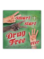 2-Smart-2-Start-Drug-Free Sticker