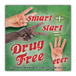 2-Smart-2-Start-Drug-Free Sticker
