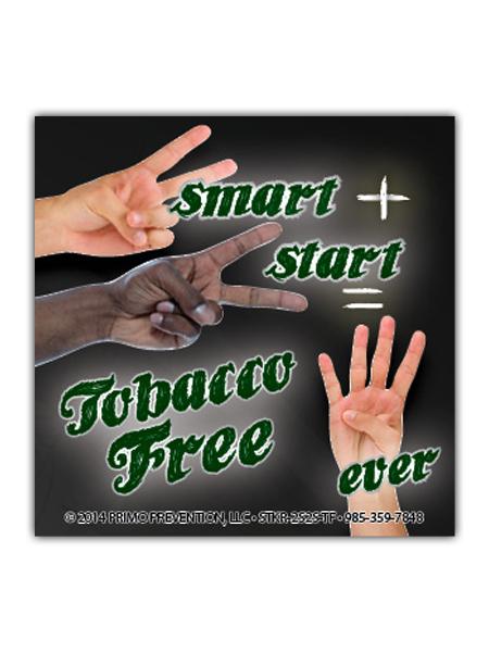 2-Smart-2-Start-Tobacco Sticker