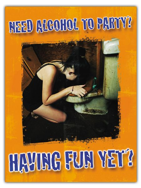 alcohol poster