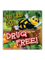 Bee-Like-Me-Drug-Free Sticker
