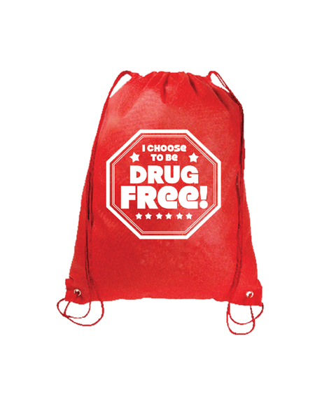 Choose-drug-free-backpack
