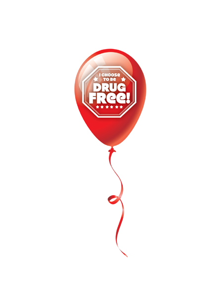 Choose-drug-free-balloon