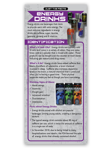 Energy Drinks Rack Cd2 Back