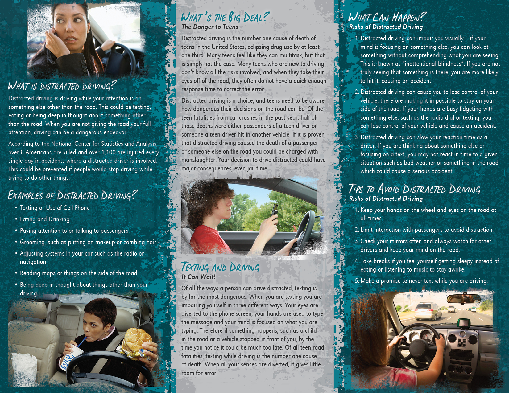 an analysis of the effects of using cell phones while driving as a major cause of distracting the dr Death by cell phone posted on bring about a total ban on the use only of hand-held cell phones while driving  realized that using a cell phone is distracting.