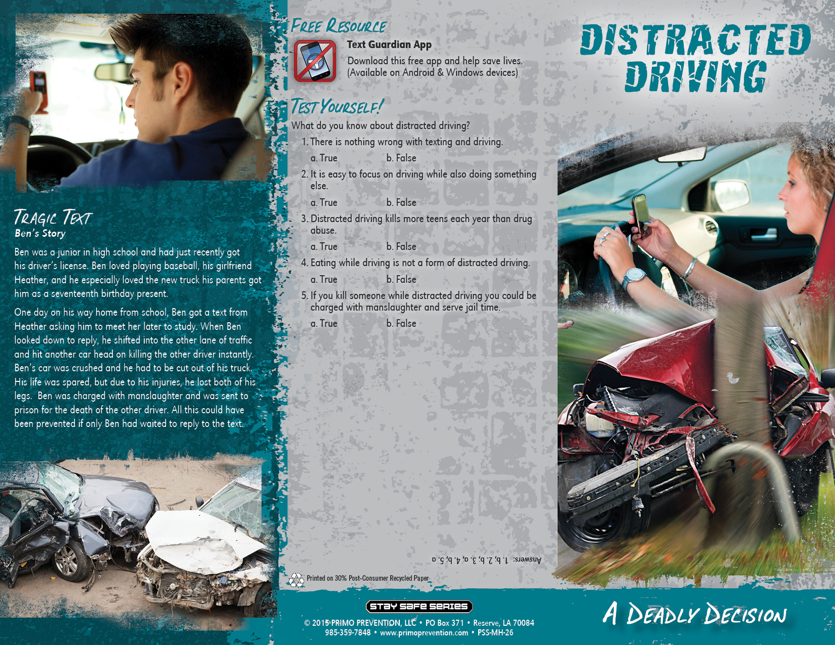 distracted driving argument paper Distracted driving argument paper abstract advancing technology in wireless communications is presenting a growing concern for distracted driving due to using cell phones and other electronic devices while driving.