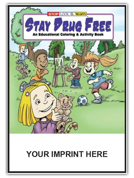 Stay-drug-free activity book