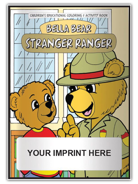 stranger ranger - Good Touch Bad Touch Coloring Book