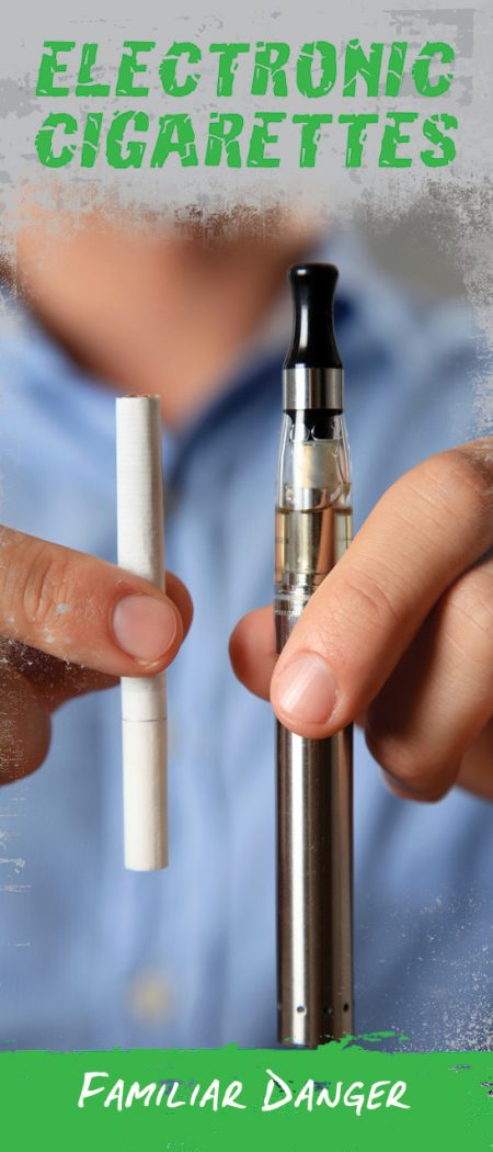 e-cigarette pamphlet