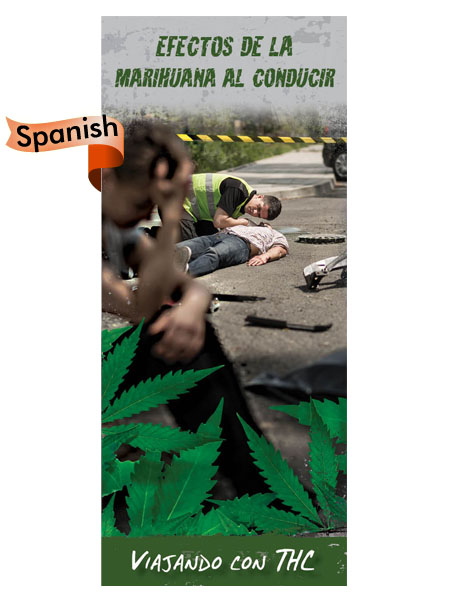 marijuana driving pamphlet