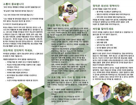 PAM-ST-06K-Starting-A-Conversation--Kids-&-Drugs-KOREAN-NEW-FLAG