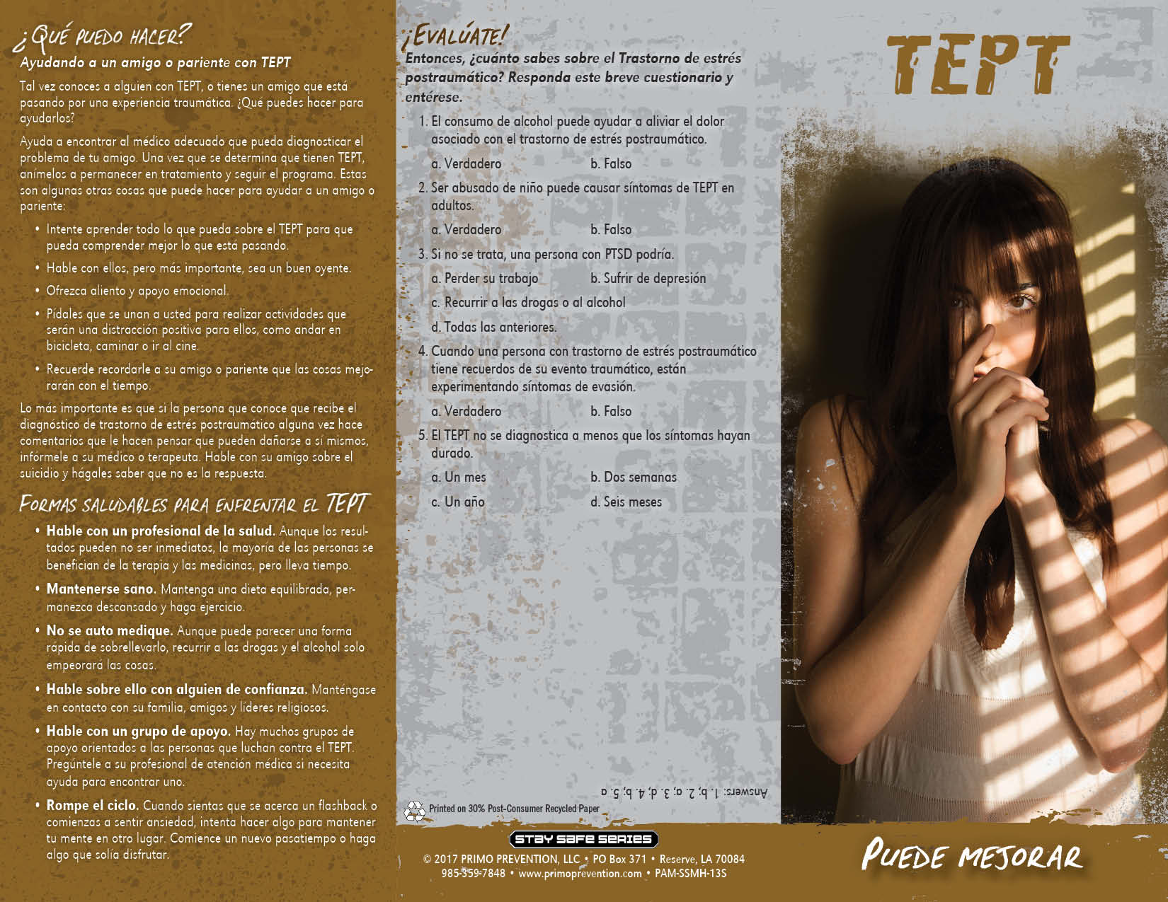 Spanish ptsd post traumatic stress disorder pamphlet primo lightbox publicscrutiny Image collections