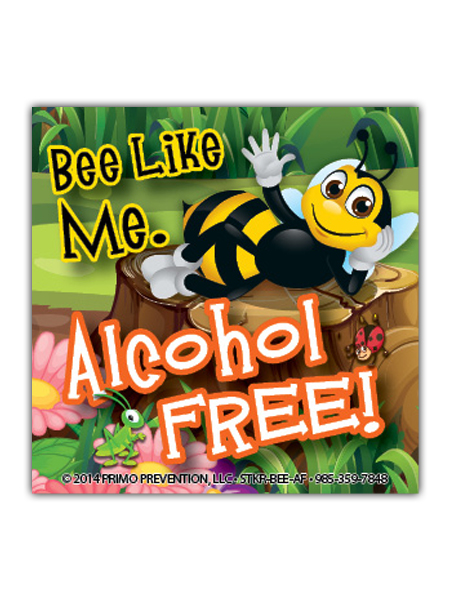Bee-Like-Me-Alcohol magnet