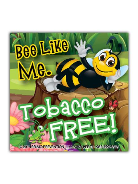 Bee-Like-Me-Tobacco Sticker