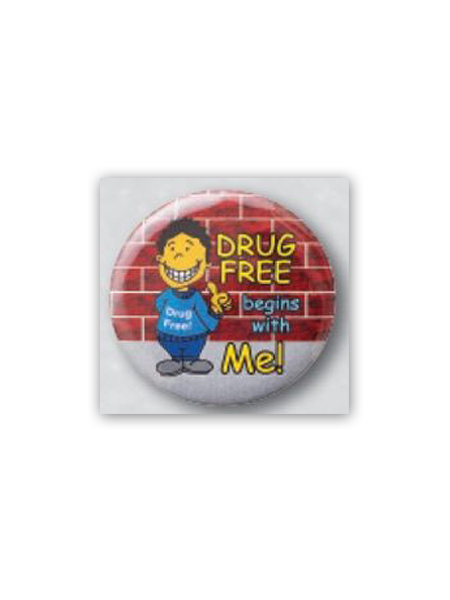 Drug-Free-Button