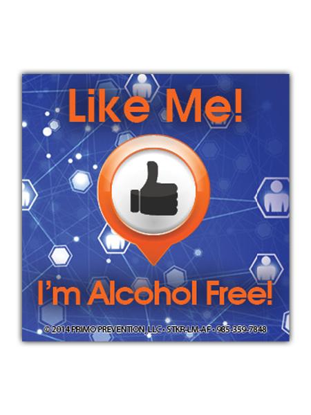 Like-Me-Alcohol Sticker