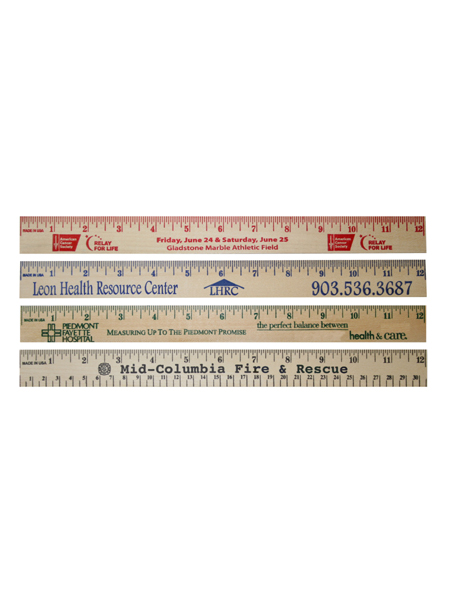 12 inch wooden mood ruler primo prevention