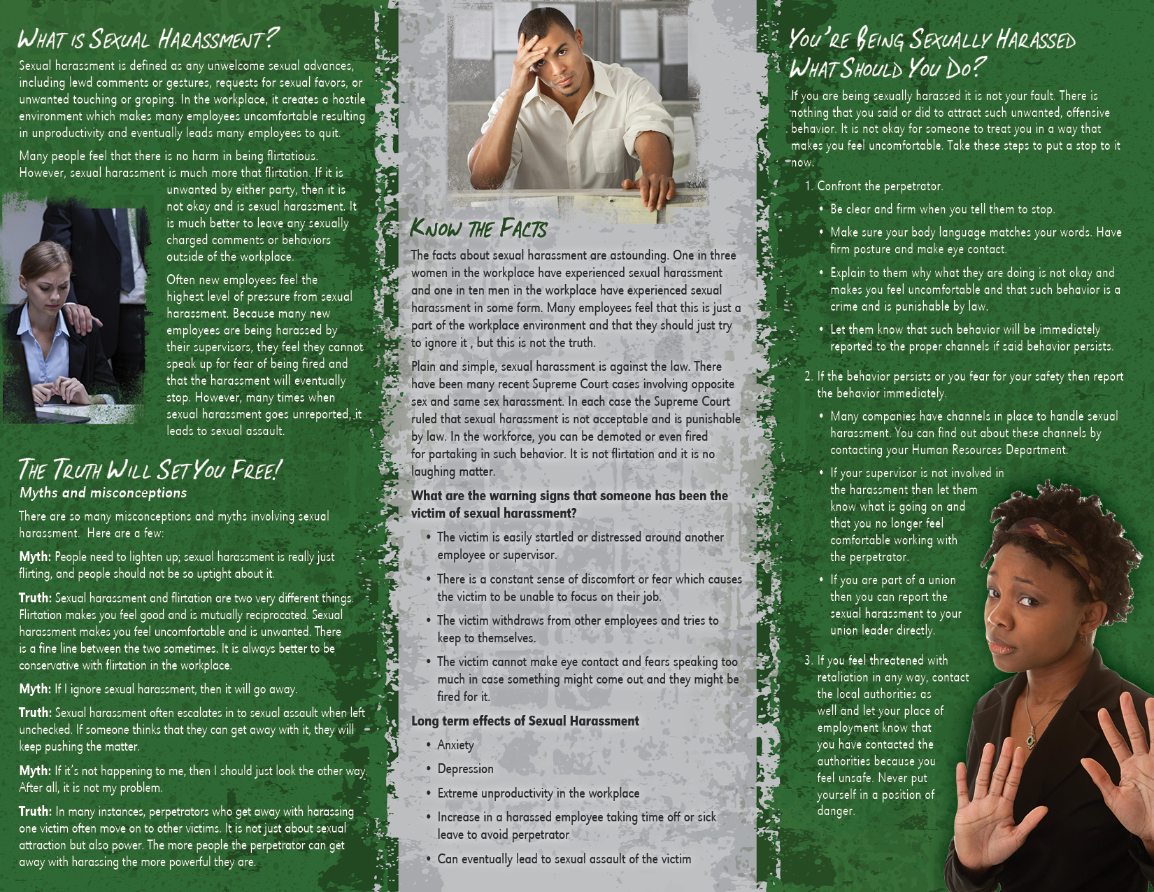 ADCQ : Sexual harassment brochure