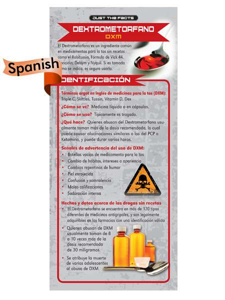dxm spanish rack card