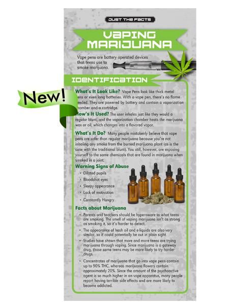 RACK-JTF-76S vaping marijuana