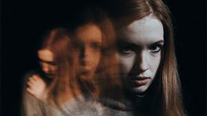 Girl experiencing paranoia after vaping marijuana
