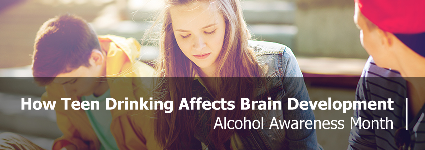 How Teen Drinking Affect Brain Development